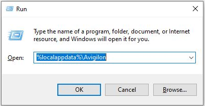 Navigate to Local AppData Directory